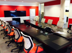 Videoconference Suite for Fortune 100 Firm